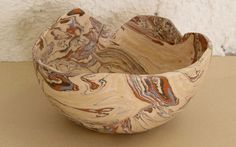 Bowl Marmorizado by Malu Serra, via Flickr