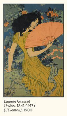 From Pomegranate's Art Nouveau 2014 Calendar