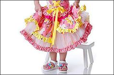 Layered Tulle Twirl Skirt-                                      -Sizes 12 M-8