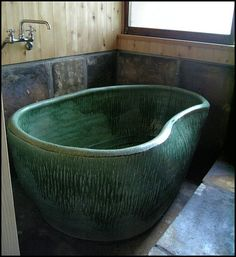 Forget my clawfoot tub...I want this now!!!