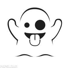 Ghost Emoji Templates by Morgan Pugh