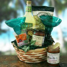 Margarita Mania Gift Basket Cute idea!