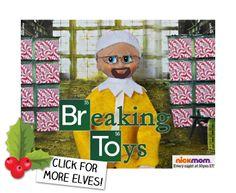 Breaking Bad! Elf on the Shelf, meet Walter White.