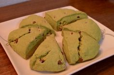 Matcha scones! Simple to make and they are just soooo delicious!