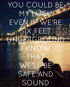 """""""Safe and Sound"""" - Capital Cities. Another good song that came out recently."""