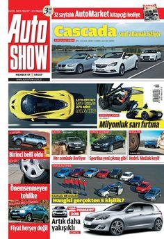 Autoshow Dergisi, 13 - 19 Mayıs sayısı yayında! Hemen okumak için: http://www.dijimecmua.com/autoshow/