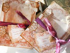 Wedding Invitation - Frame of love - in vintage style £3.50