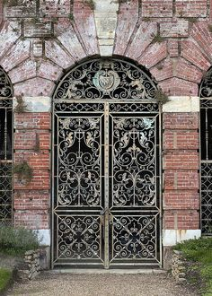 Ornamental gate, Cliveden, Buckinghamshire, United Kingdom