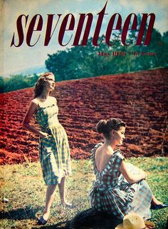 Vintage Seventeen Magazine Covers from the 1940s