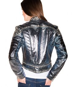 spring jacket, cowgirl playwear, silver, doubledranch shopcelebr, jackets, size xssmlxl1x2x, spring 2013, 2013 collect, bling jacket