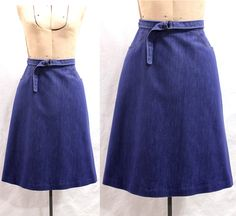 Wraparound skirts made these in home ec
