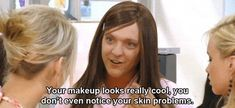"""Ja'mie on compliments 