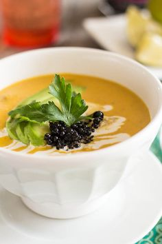 Pumpkin Seafood Chowder | by Sonia! The Healthy Foodie