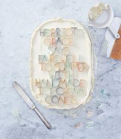 fondant letters cake, letter, valentine cards, handmade dolls, handmade gifts, handmade crafts, homemade facials, handmade jewelry, ice cream cones