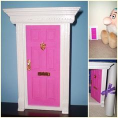 Magical Fairy Door - Fuschia