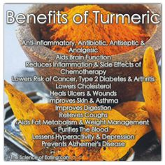 Turmeric has had studies done on it that prove it has major benefits for your body and brain. Here are some of the top health benefits of this amazing spice you should be using more often!