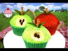 Apple Cupcakes! Make Vegan Caramel Apple Cupcakes - A Cupcake Addiction Vegetarian Baker Collab!