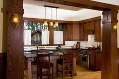 New Craftsman Bungalow Kitchen