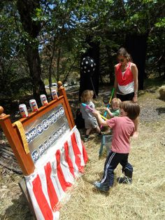 easy homemade carnival games for kid party