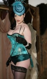 Corset from Rawhide