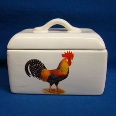 ceramic recipe box