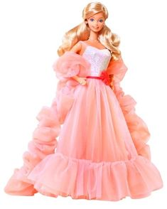 oh how i loved my peaches and cream barbie! I wanted a dress just like hers :)