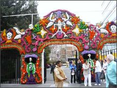 While specific Day of the Dead traditions vary from region to region ...