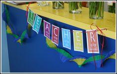Teacher Appreciation Banner