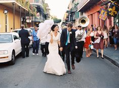 Wedding Reception Second-Line in New Orleans!