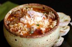Crock Pot Lasagna Soup soups, crock pots, crock pot lasagna, ground beef, food, lasagna soup, groundbeef, slow cooker, recip