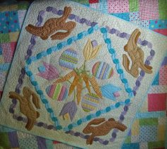 Kims Big Quilting Adventure: Easter Leftovers