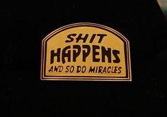 Alcoholics Anonymous Happens Vest Pin NA Narcotics Al Anon | eBay