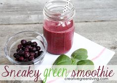 Sneaky Green Smoothie