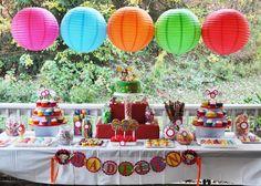 Ni Hao Kai Lan Birthday Party.