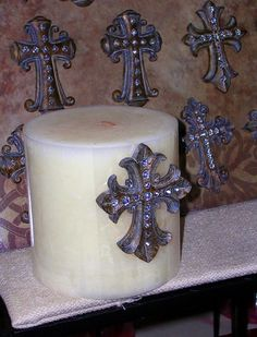 Cross Candle Pin $6.99