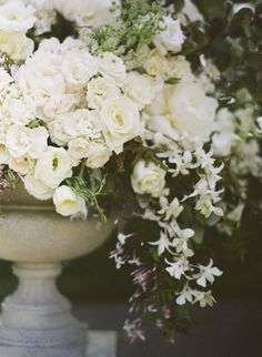 I absolutely love flowers, and white roses are my favorite.