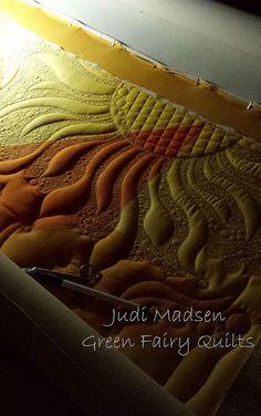 machin quilt, quilt inspir, quilt idea, quilt finish