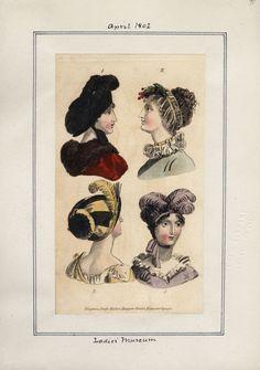 Ladies' Museum, April 1802