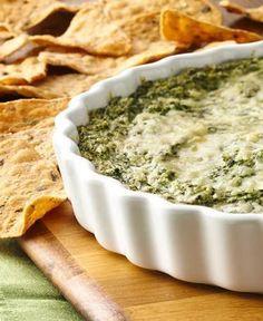 Cheesy Spinach and Cauliflower Dip