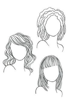 How to get the best haircut for your face shape AND hair texture
