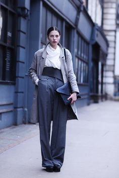 Blue London. Love this look.
