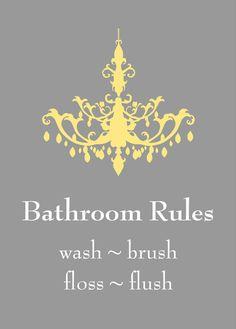 Yellow and Gray Bathroom Art Home Decor Prints You by karimachal