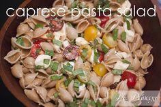 summer salads: caprese pasta salad