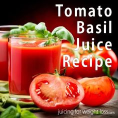 For those of you that love freshly juiced #tomato #juice, you will also love this simple twist on this classic recipe.