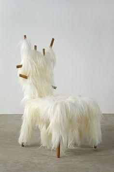 Humberto and Fernando Campana - Kidassia Chair (@ Art Basel Design Miami 2013)