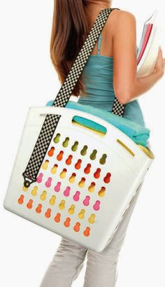Organizing Life with Less: Organizing With A Hands Free Tote + Giveaway