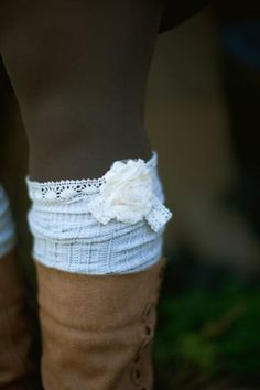 Boot Socks. These are way cute!