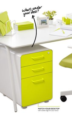 Meet Poppin's File Cabinet! Just like Mom said: Don't get caught with ugly drawers.