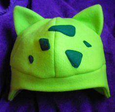 Pokemon Shiny Bulbasaur Hat by herarlovesyou on Etsy, $18.00