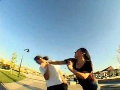 Mom Punches Skateboarder In The Face After He Accidentally Runs Into Her Kid.  A. Why was an underage child running around a skate park unsupervised?  B. The skater didn't see the child - he was in the middle of his line & IMMEDIATELY apologized.  C. I bet this mom blames everything & everyone else for her son's behaviours.  Read more: http://www.theblaze.com/stories/2013/08/22/viral-unlucky-skateboarder-discovers-what-can-happen-if-you-accidentally-hurt-a-womans-child/#ixzz2cqXzWsw8